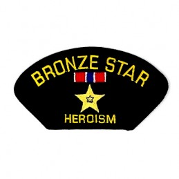 Thermo patch BRONZE STAR