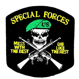 Thermo patch Special Forces...