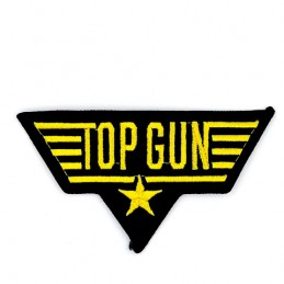 Thermo patch USN TOP GUN Gold