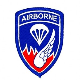 Thermo patch 187th Infantry...