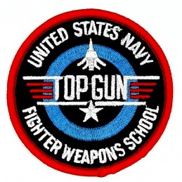 Thermo patch USN TOP GUN...