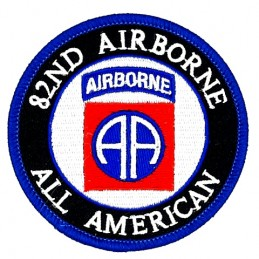 Thermo patch 82nd Airborne...
