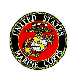U.S. Marine Corps velcro patch