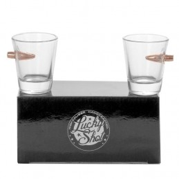 Set of 2 shot glasses with...