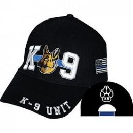 K-9 Police Corps Blue Line Cap