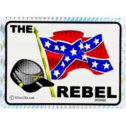 THE REBEL Car Sticker