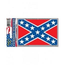 Confederate Flag Car Sticker