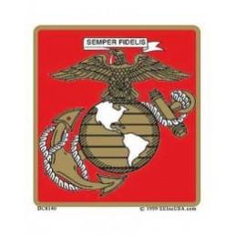 USMC LOGO car sticker...
