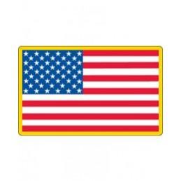 Velcro Patch (velcro) Flag USA