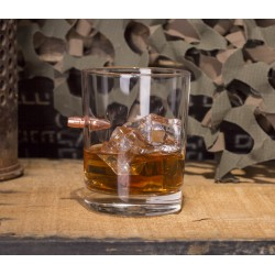 Whiskey glass with original...