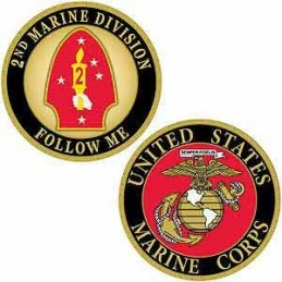 Challenge Coin USMC 2nd...