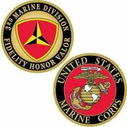 Challenge Coin USMC 3rd...